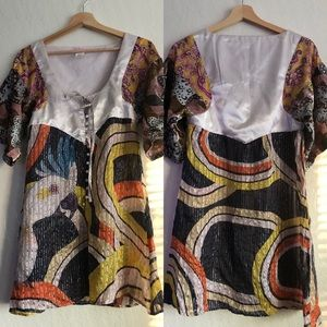 Custo Barcelona multicolored tunic EU 38/US 4